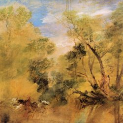 William-Turner-Weiden-neben-einem-Strom