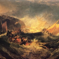 William-Turner-Wrack-eines-Transportschiffes