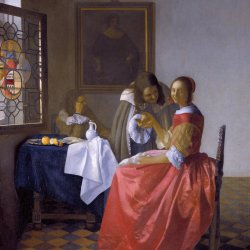 Jan-Vermeer-The-girl-with-a-wineglass