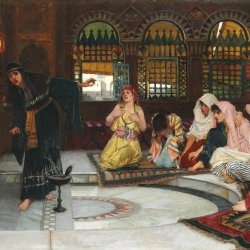 John-William-Waterhouse-Consulting-The-Oracle