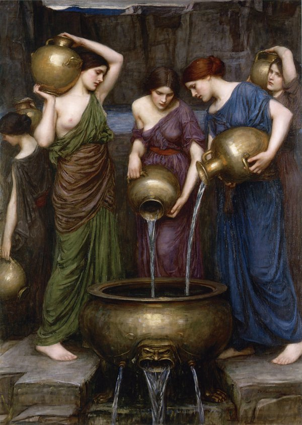 John William Waterhouse Danaides