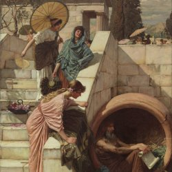 John-William-Waterhouse-Diogenes