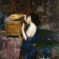 John-William-Waterhouse-Pandora