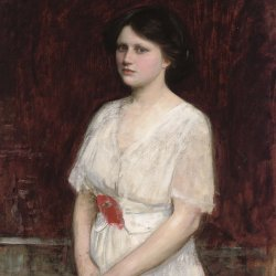 John-William-Waterhouse-Portrait-of-Miss-Claire-Kenworthy