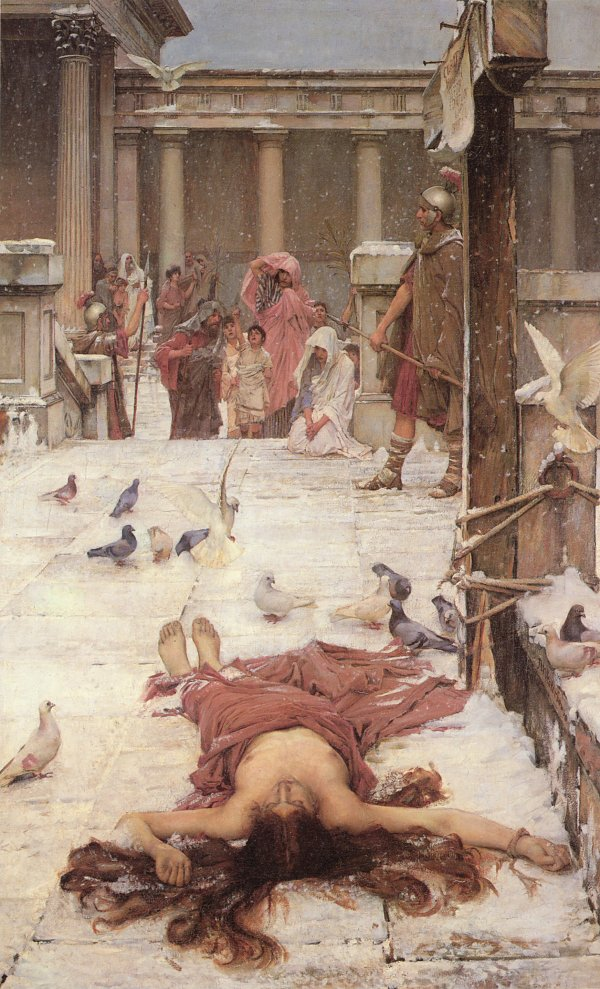 John William Waterhouse Saint Eulalia