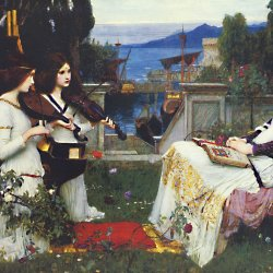 John-William-Waterhouse-St-Cecilia