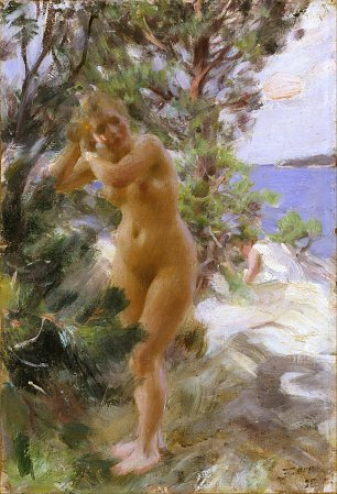 Anders Zorn After the Bath