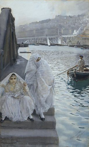 Anders Zorn From Algiers Harbor