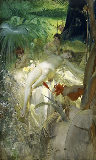 Anders Zorn Love Nymph