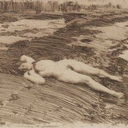 Anders-Zorn-On-the-sands