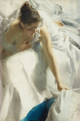 Anders Zorn Reveil the artists wife