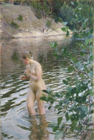 Anders Zorn Shivering Girl