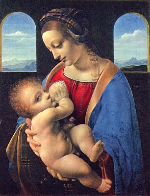 Leonardo Da Vinci Madonna Litta Wandbilder
