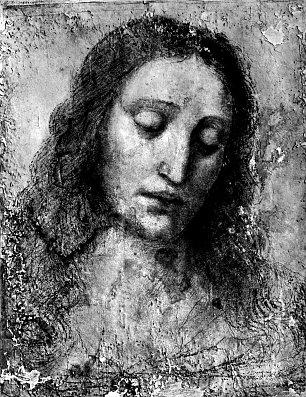 Leonardo Da Vinci Kopf Christi Wandbilder