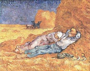 Vincent van Gogh Mittagsrast Wandbilder