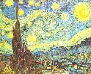 Vincent van Gogh Sternennacht Wandbilder