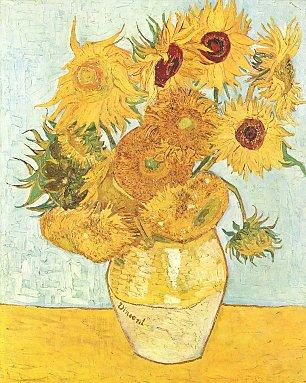 Vincent van Gogh Stillleben mit Sonnenblumen 2 Wandbilder