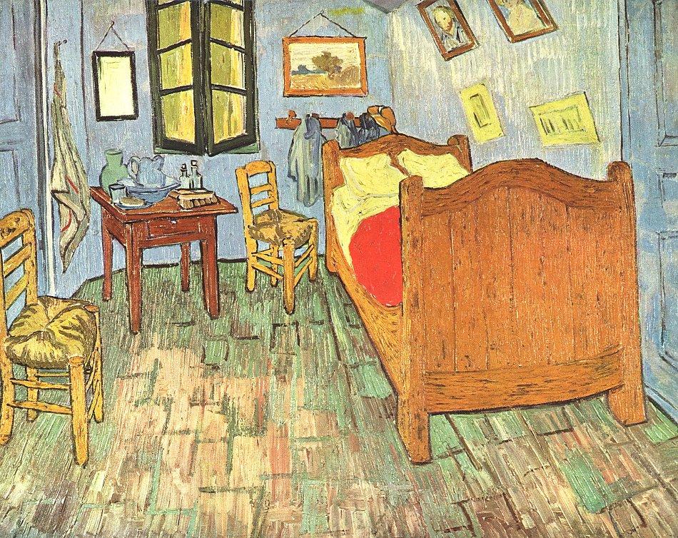 Vincent Van Gogh Van Goghs Schlafzimmer Bild Auf Leinwand