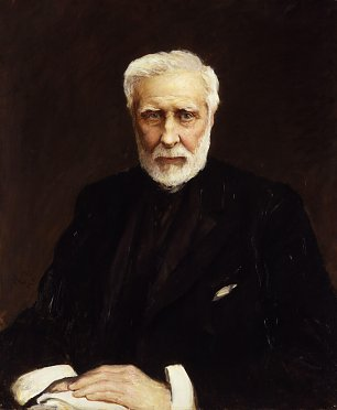 Hubert von Herkomer Sir George Grey Wandbild