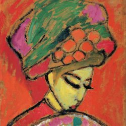 Alexej-von-Jawlensky-Young-Girl-with-a-Flowered-Hat