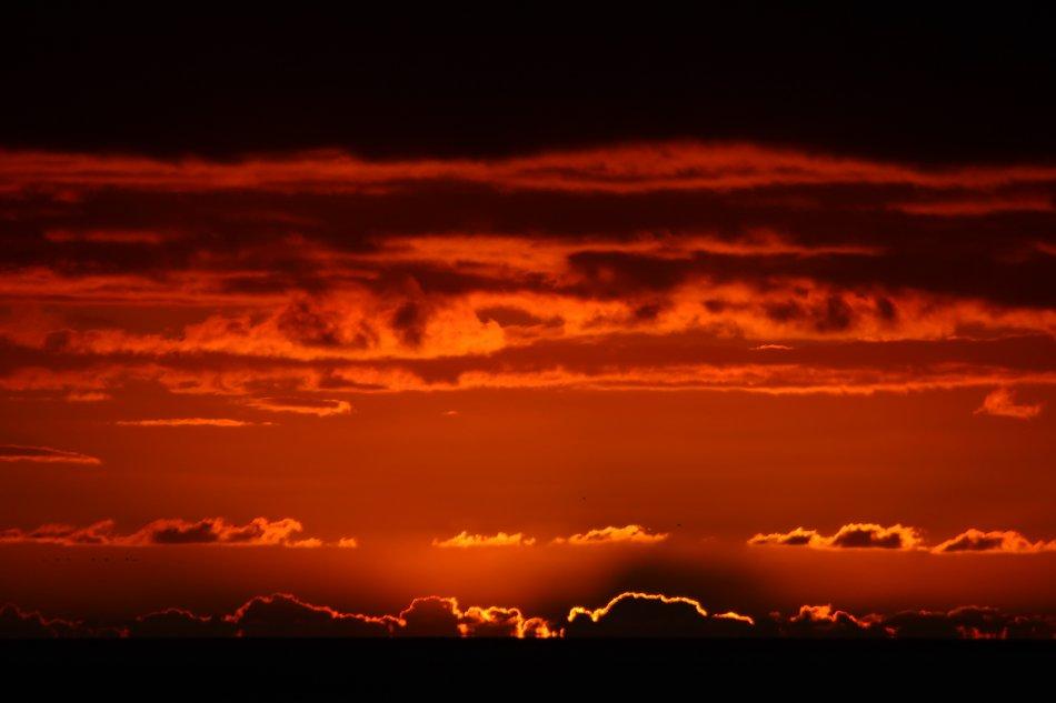 Roter Himmel