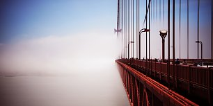 Golden Gate Bridge Wandbild