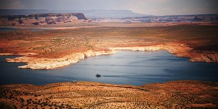 Lake Powell 1 Wandbild