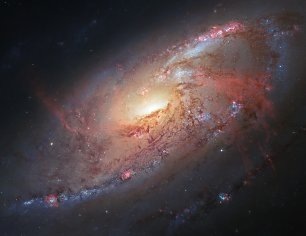 Hubble Cosmological Masterpiece Wandbild