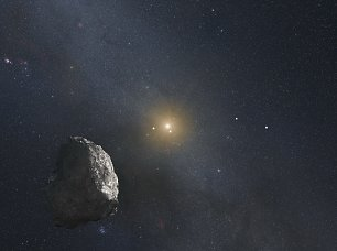 Hubble Kuiper Belt Wandbild