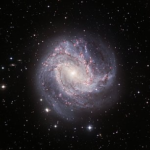 Spiral Galaxie Messier 83